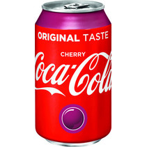 Coca Cola - cherry coke 33cl blik - 24 blikken