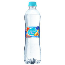 Crystal Clear - peach 50cl pet - 6 flessen