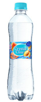 Crystal Clear Crystal Clear - peach 50cl pet - 6 flessen