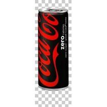 Coca Cola - zero 25cl blik - 24 blikken