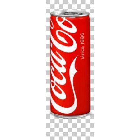 Coca Cola Coca Cola - regular 25cl blik - 24 blikken