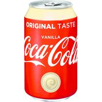 Coca Cola - vanilla 33cl blik - 24 blikken