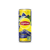 Liptonice - ice tea sparkling 25cl - 24 blikken