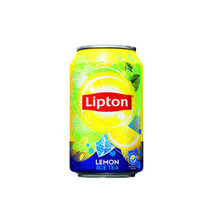 Liptonice - ce tea lemon no bub 33cl blik- 24 blikken