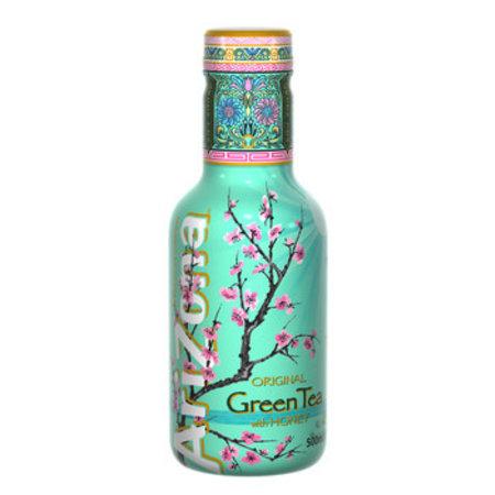 Arizona AriZona - ice tea green 50cl pet- 6 flessen