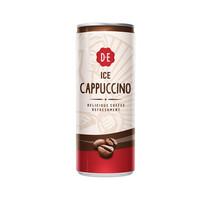 Douwe Egberts - cappuccino 25cl blik - 12 blikken