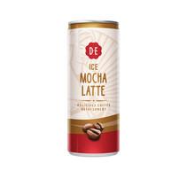 Douwe Egberts - mocha latte 25cl blik - 12 blikken