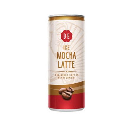 Douwe Egberts Douwe Egberts - mocha latte 25cl blik - 12 blikken