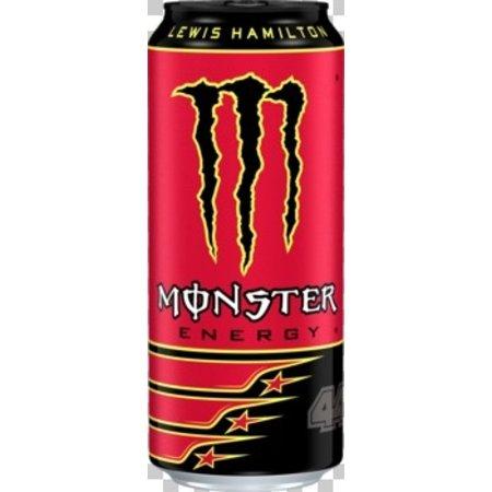 Monster Monster - lewis hamilt 50cl blik- 12 blikken