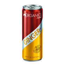 Organics - bio! organic ginger ale 25cl - 12 blikken