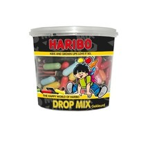 Haribo - cons.silo drop mix gekl.650g - 6 silo