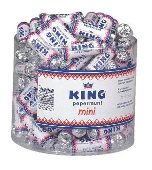 King King - King Pepermunt Mini, 110 Stuks