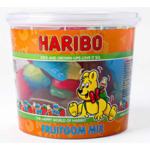 Haribo - cons.silo fruitgommix 650g - 6 silo