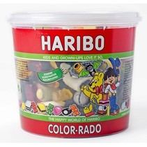 Haribo - Cons.Silo Colorado 650G, 6 Silo