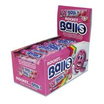 Rocket Balls - zure kogels aardbei 5pack - 50 5 pack