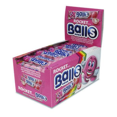 Rocket Balls Rocket Balls - Zure Kogels Aardbei 5Pack, 50 5 Pack