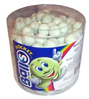 Rocket Balls Rocket Balls - zure kogels appel silo 200st - 200 stuks