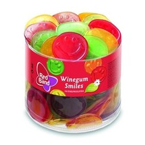 Red Band - Winegum Smiles, 150 Stuks