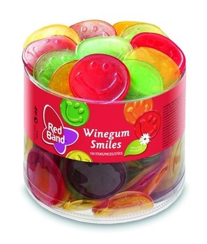 Red Band Red Band - Winegum Smiles, 150 Stuks