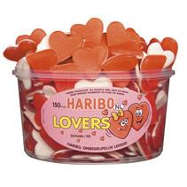 Haribo - schuim liefdesharten/lovers - 150 stuks