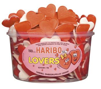 Haribo Haribo - Schuim Liefdesharten/Lovers, 150 Stuks