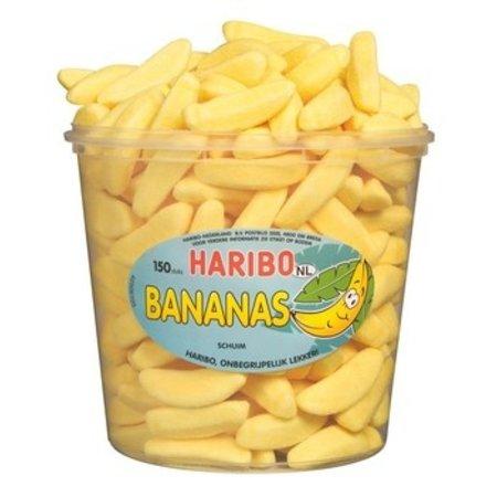 Haribo Haribo - Schuim Bananen, 150 Stuks
