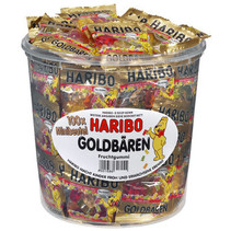 Haribo - Goudbeertje Zakjes, 100 Zakken