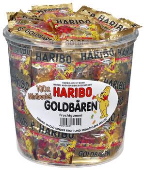 Haribo Haribo - Goudbeertje Zakjes, 100 Zakken