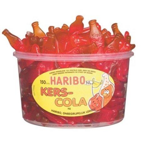 Haribo Haribo - fg kers-colaflesjes - 150 stuks