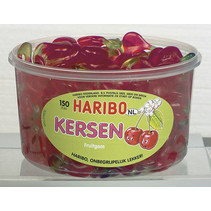 Haribo - fg kersen - 150 stuks