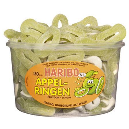 Haribo Haribo - schuim appelringen - 150 stuks