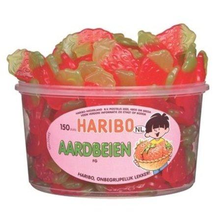 Haribo Haribo - fg aardbeien - 150 stuks