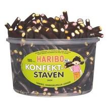 Haribo - drop konfektstaven groot - 150 stuks