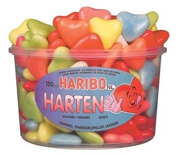 Haribo Haribo - schuim harten - 150 stuks