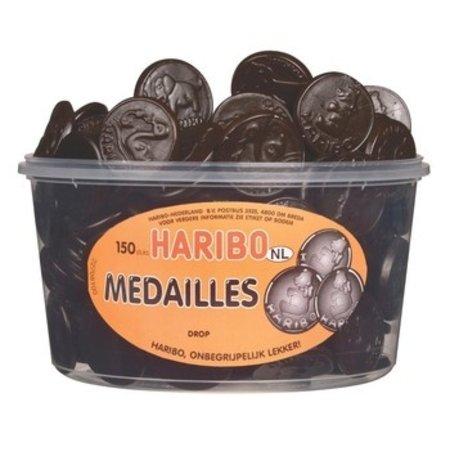 Haribo Haribo - Drop Medailles, 150 Stuks