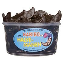 Haribo - drop maantjes - 150 stuks