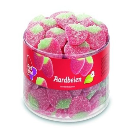 Red Band Red Band - Aardbeien, 150 Stuks