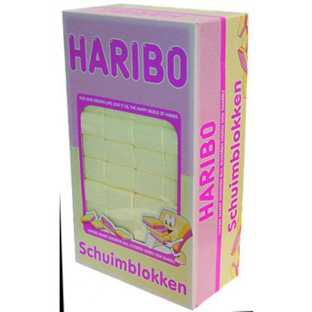 Haribo Haribo - schuimblokken vanille - 200 stuks