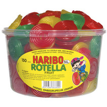 Haribo - Fruit Rotella 150St, 150 Stuks