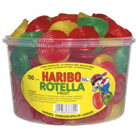 Haribo Haribo - fruit rotella 150st - 150 stuks