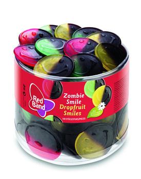 Red Band Red Band - Dropfruit Smiles, 100 Stuks