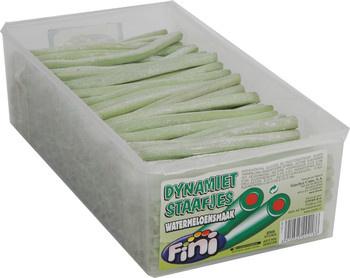 Fini Fini - dynamietstaafjes watermeloen - 250 stuks