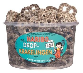 Haribo Haribo - drop krakelingen - 150 stuks