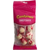 Candyman - snoepzakkie salmiakknotsen - 12 zakken