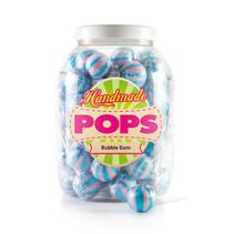 Handmade Pop - Bubble Gum Lolly, 70 Stuks
