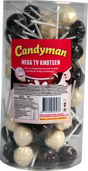 Candyman Candyman - Mega Tv Knotsen, 75 Stuks