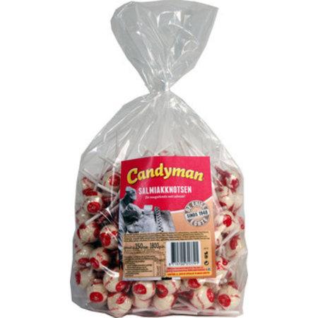 Candyman Candyman - Candyman Salmiakknotsen 150St, 150 Stuks