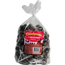 Candyman - tv lollie bruin - 150 stuks