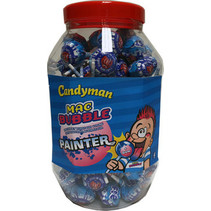 Mr Bubble - painter - 100 stuks