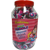 Mr Bubble - Mr.Bubble Met Aardbei, 100 Stuks